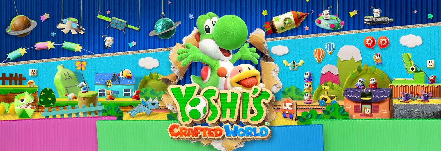 Yoshi's Crafted World - Nintendo Switch by Nintendo (Image #1)