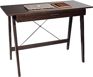 OneSpace Newport Drawer, Espresso Computer Desk