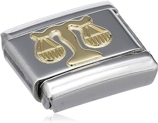 Nomination 030104 - Link da donna, acciaio inossidabile