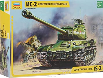 Soviet Heavy Tank KV-1 Zvezda 3539 19 cm Plastic Model Kit Scale 1//35 233 Parts Lenght 7.5