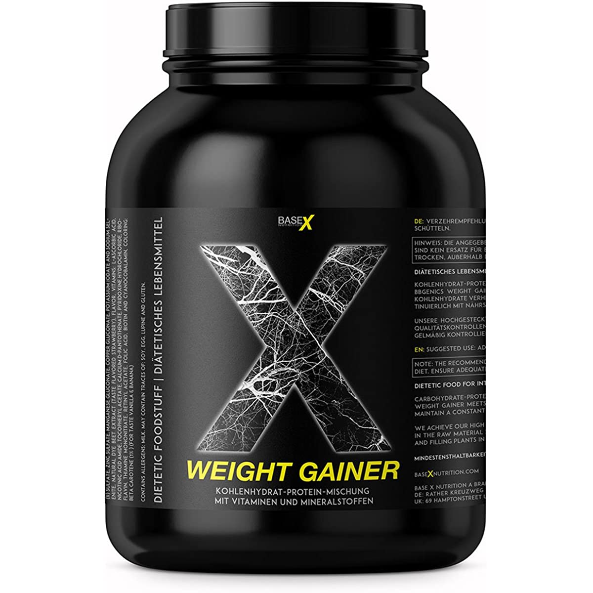 base X nutrition Weight Gainer