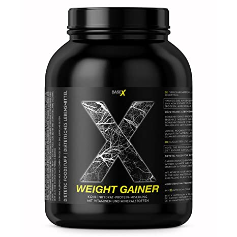 baseXnutrition, WEIGHT GAINER, la base para el aumento de peso ...