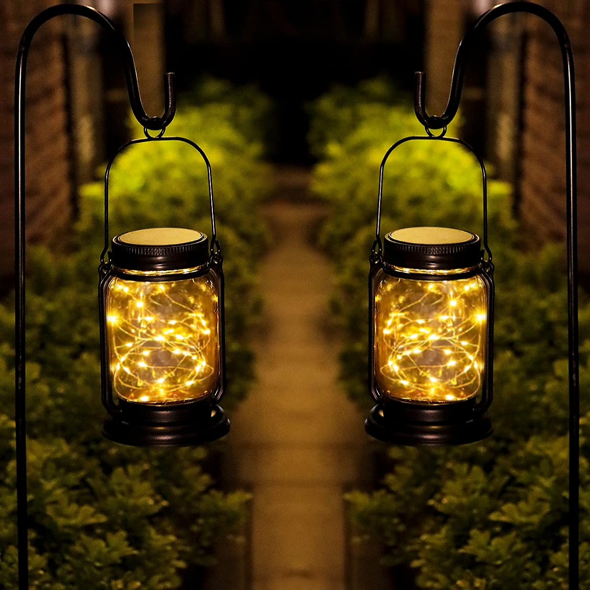 YUEFA Solar Lanterns Outdoor Waterproof