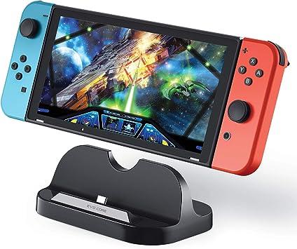 Evo Core Power Dock - Soporte de Carga para Consola Nintendo Switch: Amazon.es: Electrónica