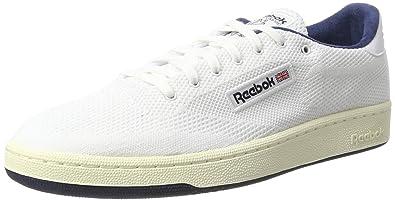 Reebok Club C 85 OG Ultk, Zapatillas de Gimnasia para Hombre, Blanco (White/Classic White/Collegiate Navy), 43 EU