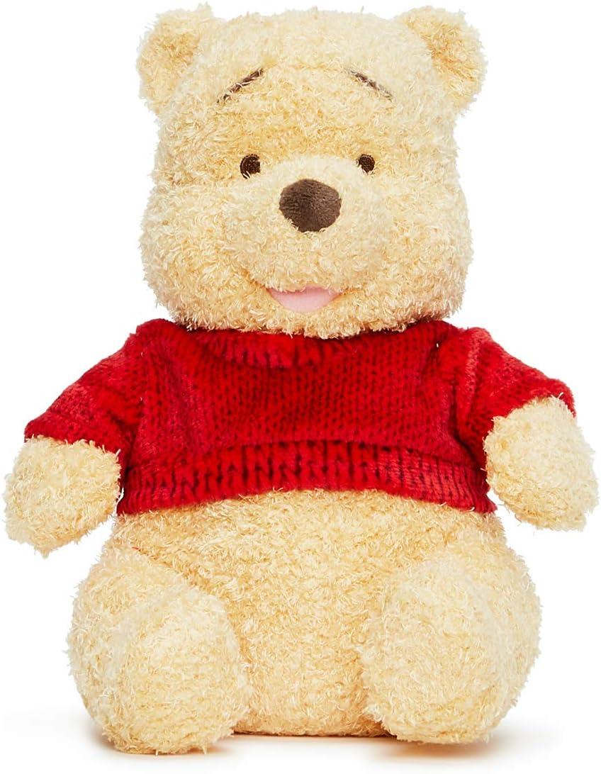 Posh Paws Soft Toy-25cm Winnie The Oso de Peluche Pooh, Color Rosso, Large 10-Inch/25cm (37125)