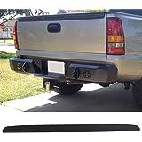 Trunk Spoiler Fits 1999-2006 Chevy Silverado & GMC Sierra   Unpainted Black Rear Spoiler Wing Tail Lid Finnisher Deck Lip by IKONMOTORSPORTS   2000 2001 2002 2003 2004 2005