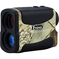 Eyoyo Golf Range Finder Hunting Distance Meter Speed Measurer 5-700 Yard 6X Multifunction Ranging, Scan, Flagpole Lock, Fog Speed Function