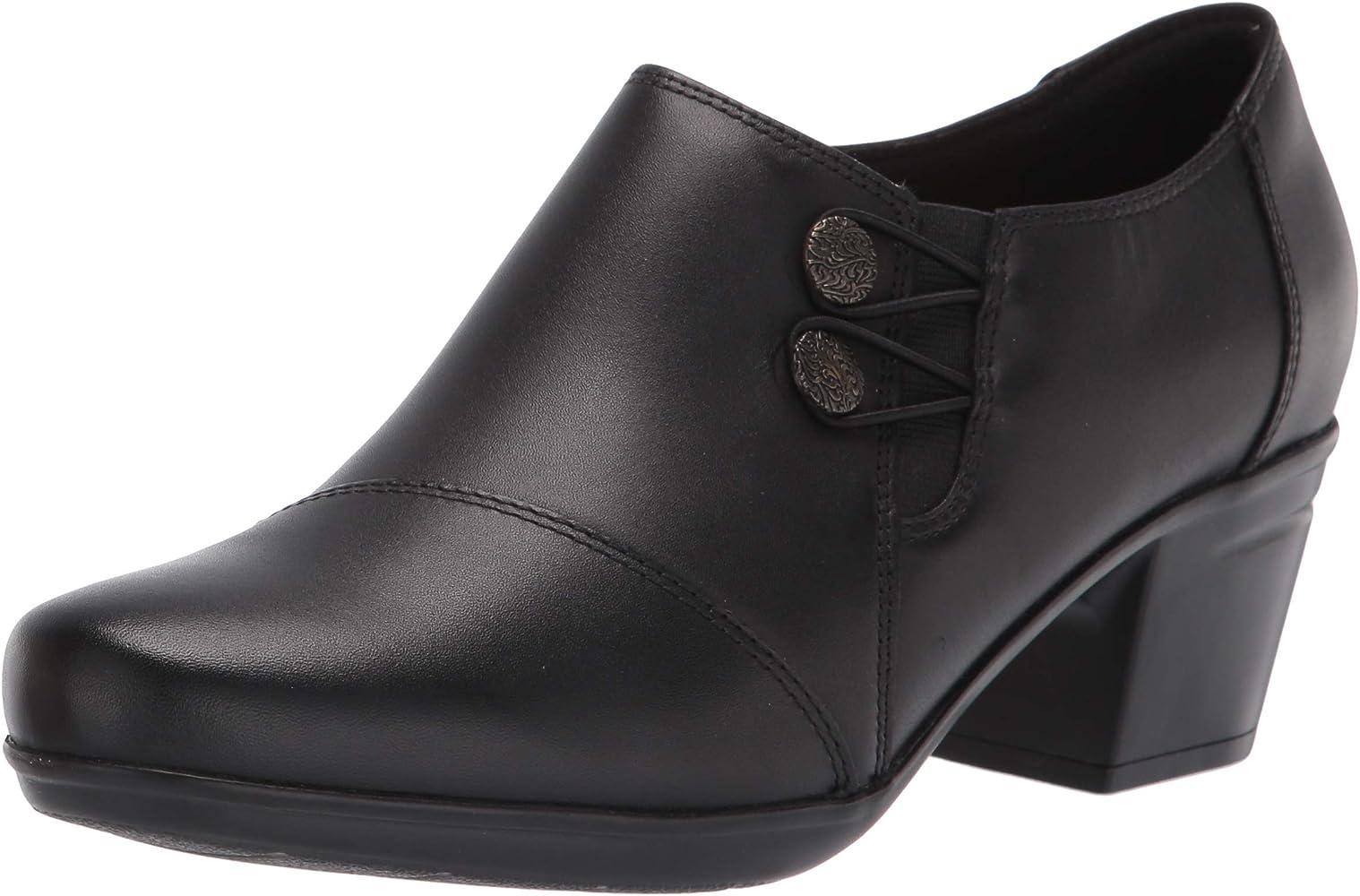 Lobo con piel de cordero tanto compromiso  Amazon.com: Clarks - Tacones Emslie Warren para mujer, Negro, 5: Shoes