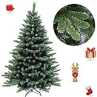 FROADP Künstlicher PVC Weihnachtsbaum Tannenbaum Kiefernadel Mit Schnee