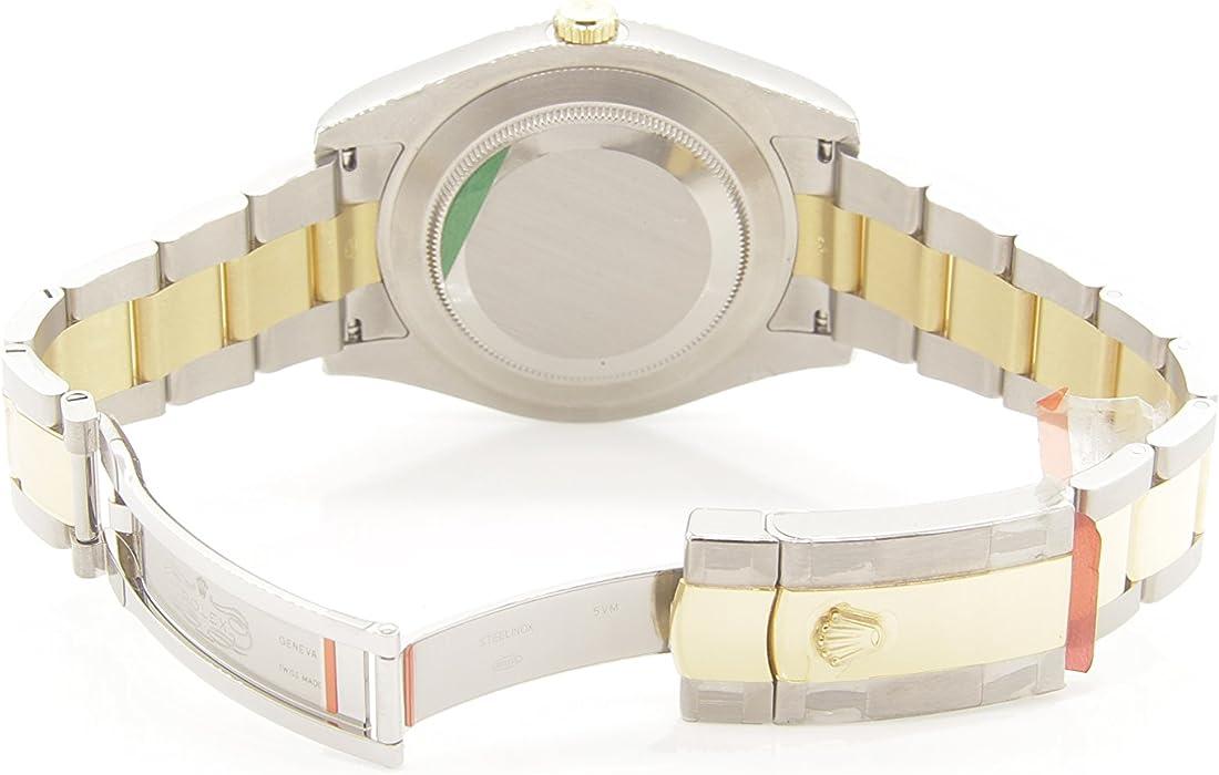 6b7c3be0cfe Rolex Day-Date 40 Silver Diagonal Motif Dial 18K Yellow Gold President Men