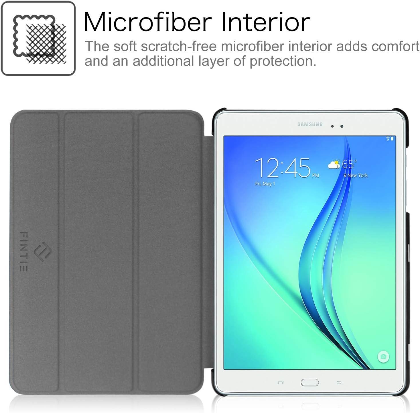 FINTIE Custodia per Samsung Galaxy Tab A 9.7 Love Tree SM-T555 Tablet Ultra Sottile di Peso Leggero Tri-Fold Smart Case Cover con Funzione Sleep//Wake per Samsung Galaxy Tab A 9.7 SM-T550