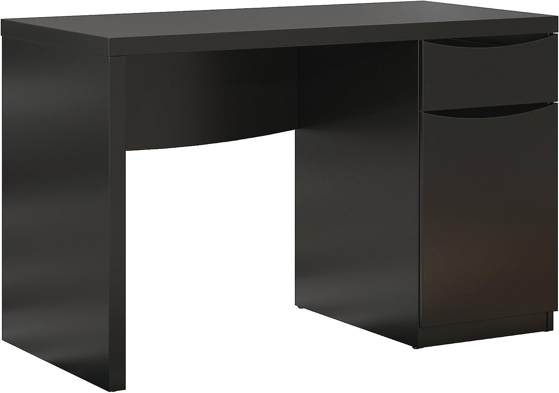 Bush Furniture Montrese Small Computer Desk in Classic Black