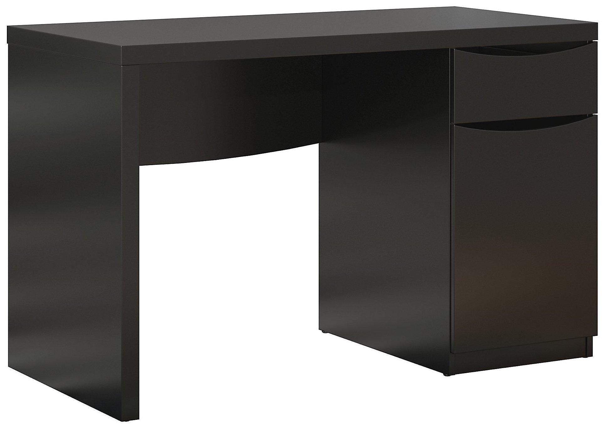 Bush Furniture Montrese Small Computer Desk in Classic Black by Bush Furniture