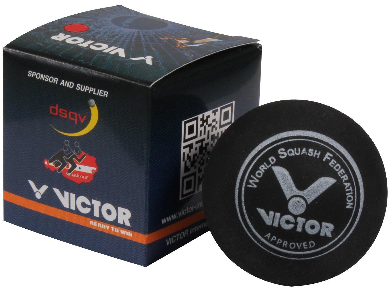 VICTOR Squashball, medium, rot VICTOR International GmbH