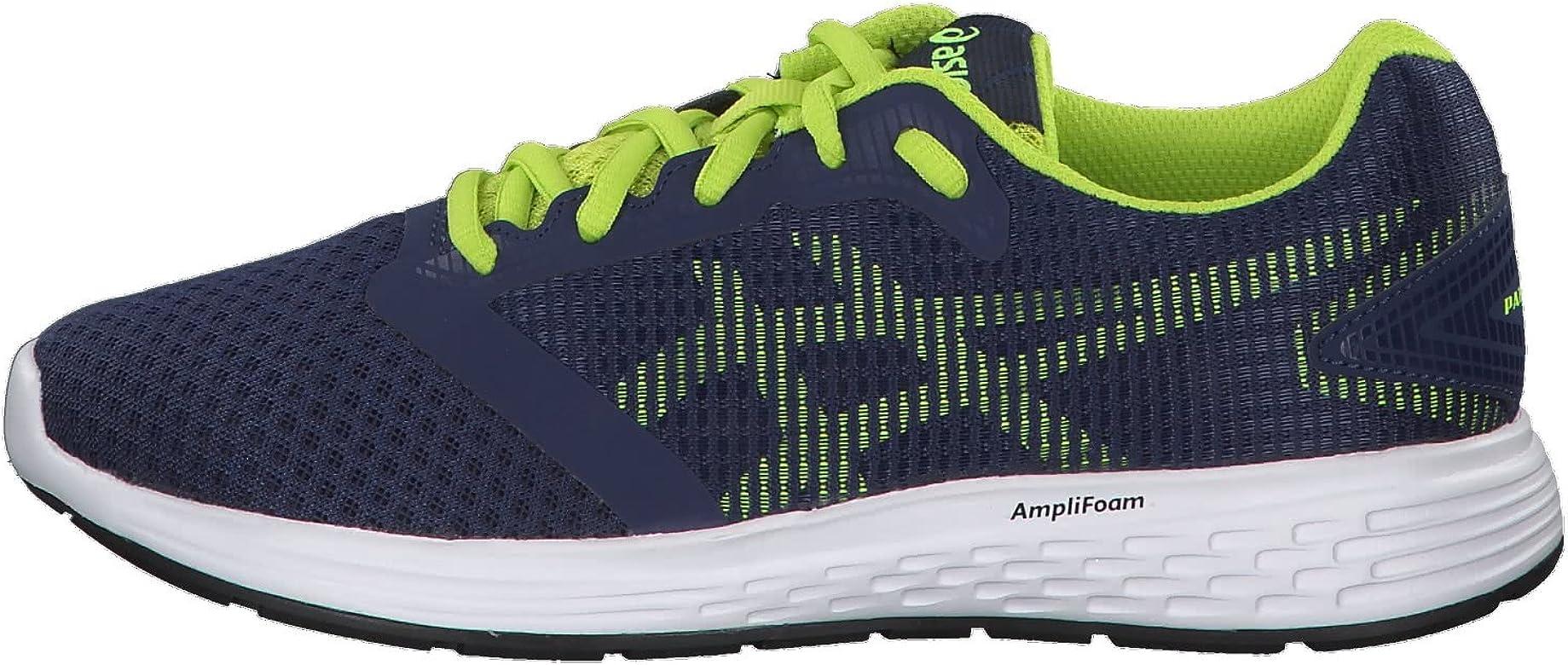 Asics Patriot 10 GS, Zapatillas de Entrenamiento Unisex Niños, Azul (Deep Ocean/Flash Yellow 401), 35.5 EU: Amazon.es: Zapatos y complementos