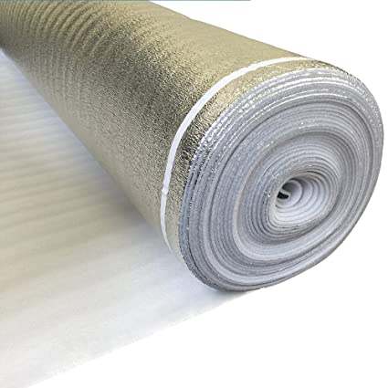 Laminate Flooring Underlayment With Silver Vapor Barrier 3in1 Foam