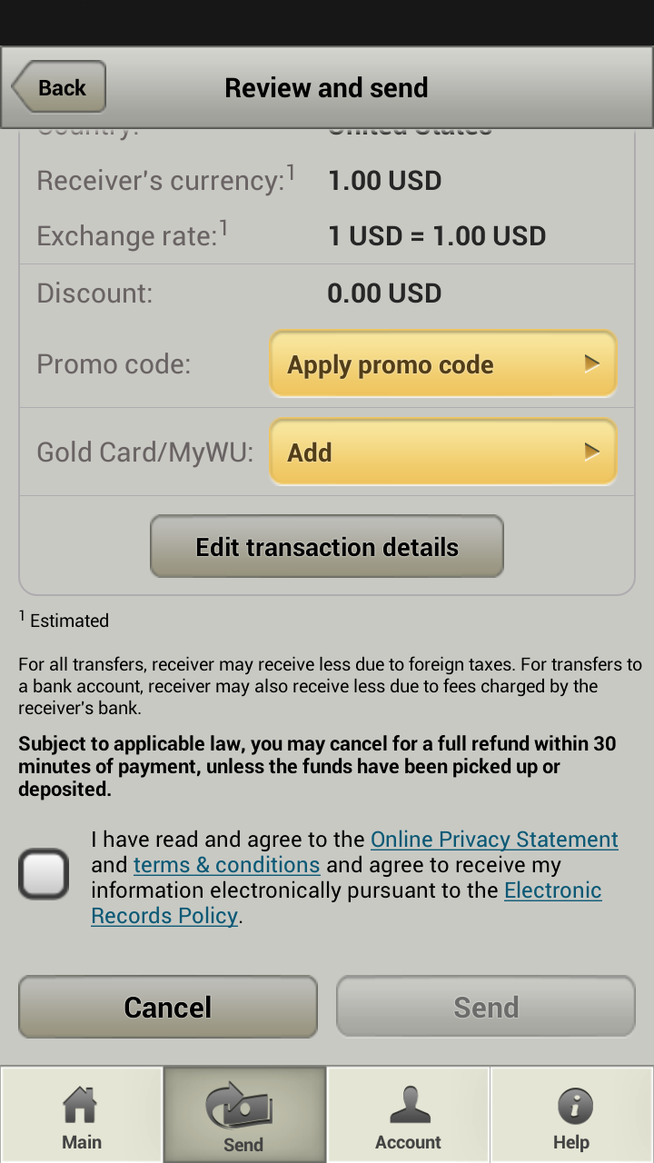 Amazon.com: Western Union: Appstore for Android