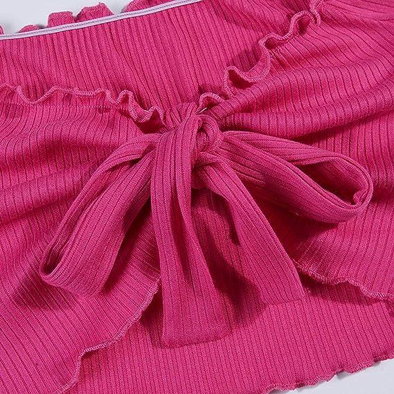 Blusas para Mujeres, clásico Colores Sólidos Rosa Cardigan Corbata ...