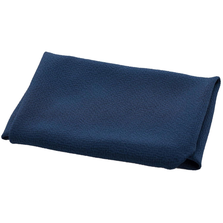 ふくさ 袱紗 慶弔両用 男性 日本製 丹後ちりめん 絹 パールトーン加工 紺 B01N0MQF32