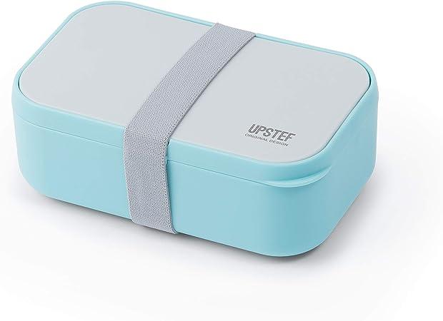 MALOVI - Fiambrera hermética - Kit Porta Almuerzo - Caja hermética para Alimentos con Cubiertos para microondas y lavavajillas: Amazon.es: Hogar
