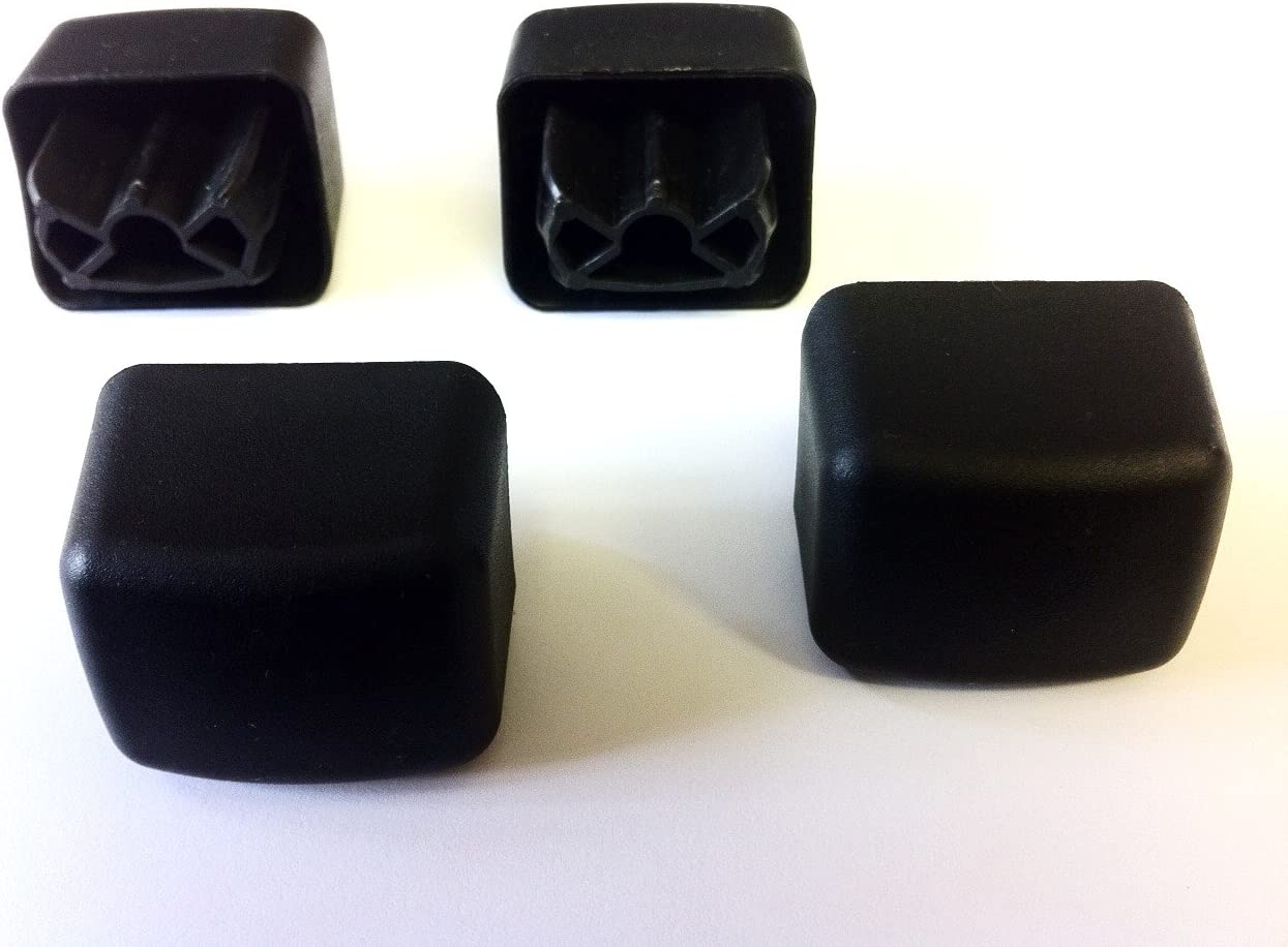 Replacement 30661 Thule Square Roof Bar End Caps x 4 Spare