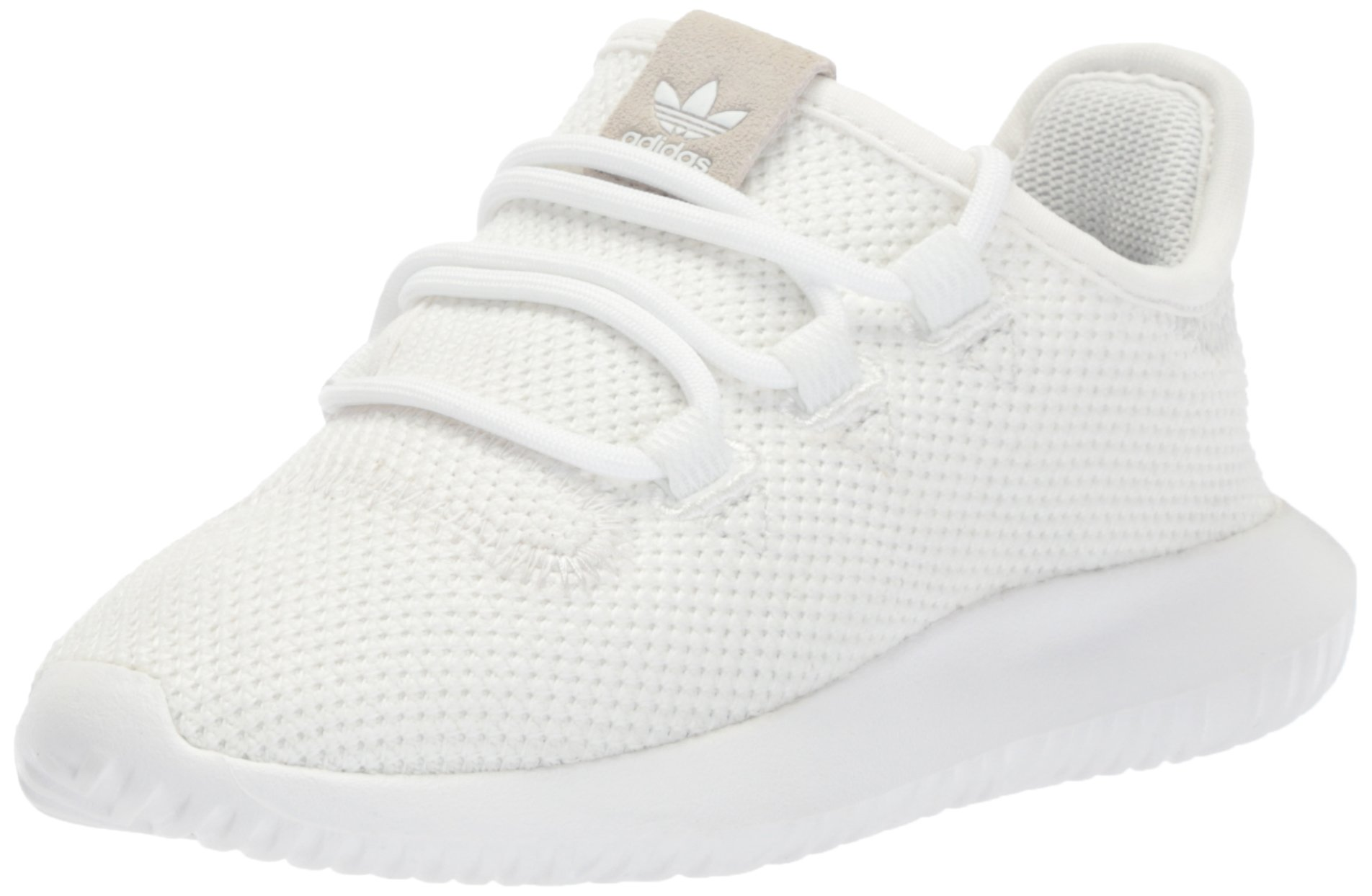 timeless design e6c8e 3d0e2 adidas Originals Boys' Tubular Shadow C Sneaker, White/Core Black/White, 2  M US Little Kid