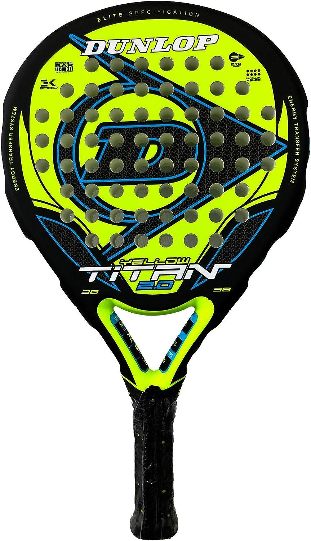 Dunlop Pala de Padel Titan 2.0 Yellow/Blue