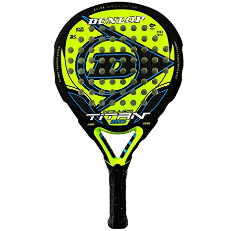 Dunlop Pala de Padel Titan 2.0 Yellow/Blue: Amazon.es ...