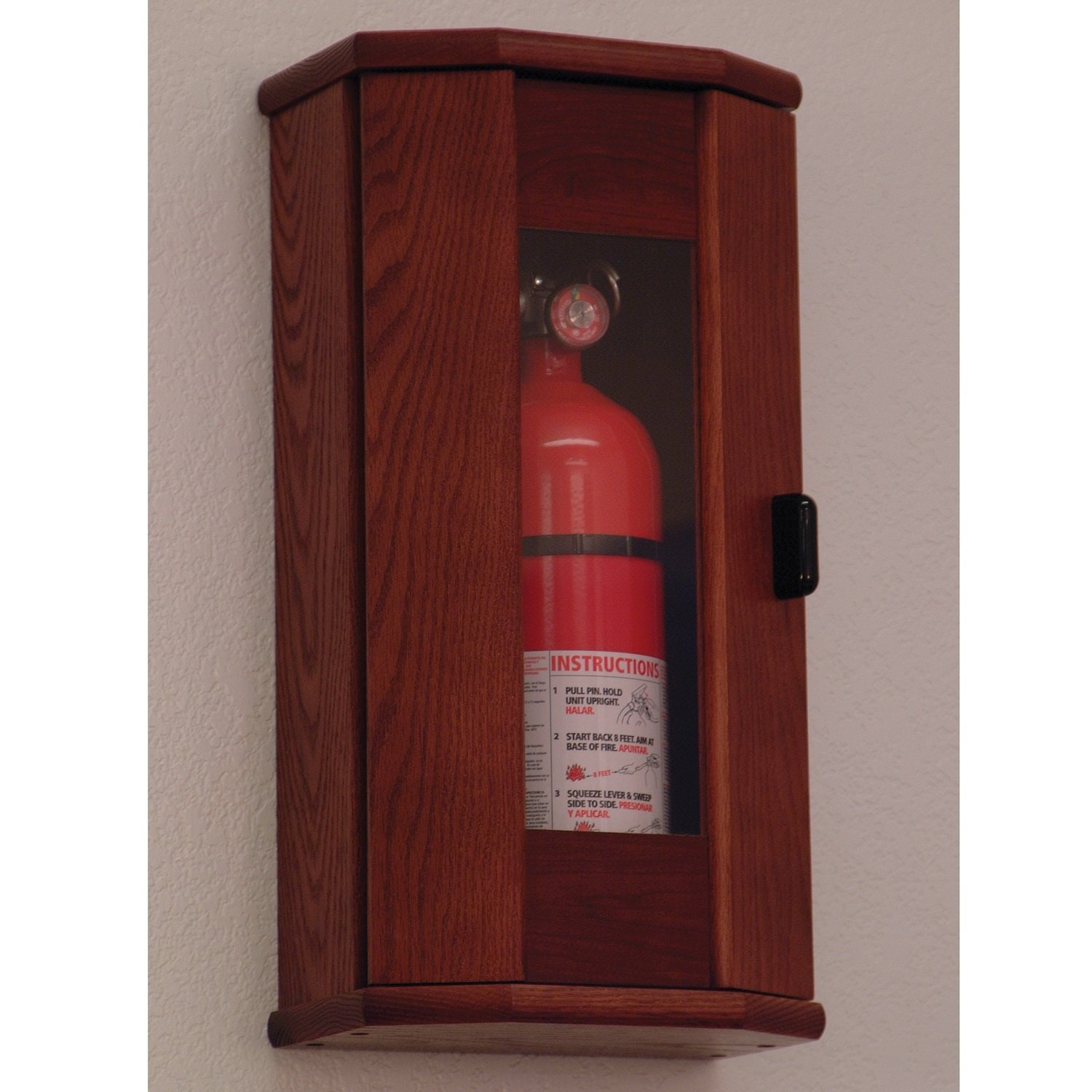 FixtureDisplays Fire Extinguisher Cabinet - 5 lb. capacity 104208