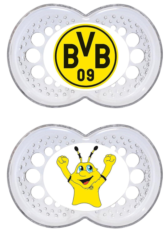 BVB transparent MAM 67550800 Original Silikon Bei/ßringe 16