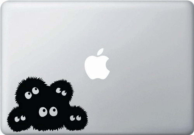 HAPPY BEAR DECALS Spirited Away Dust Bunnies Soot Sprites Macbook Decal