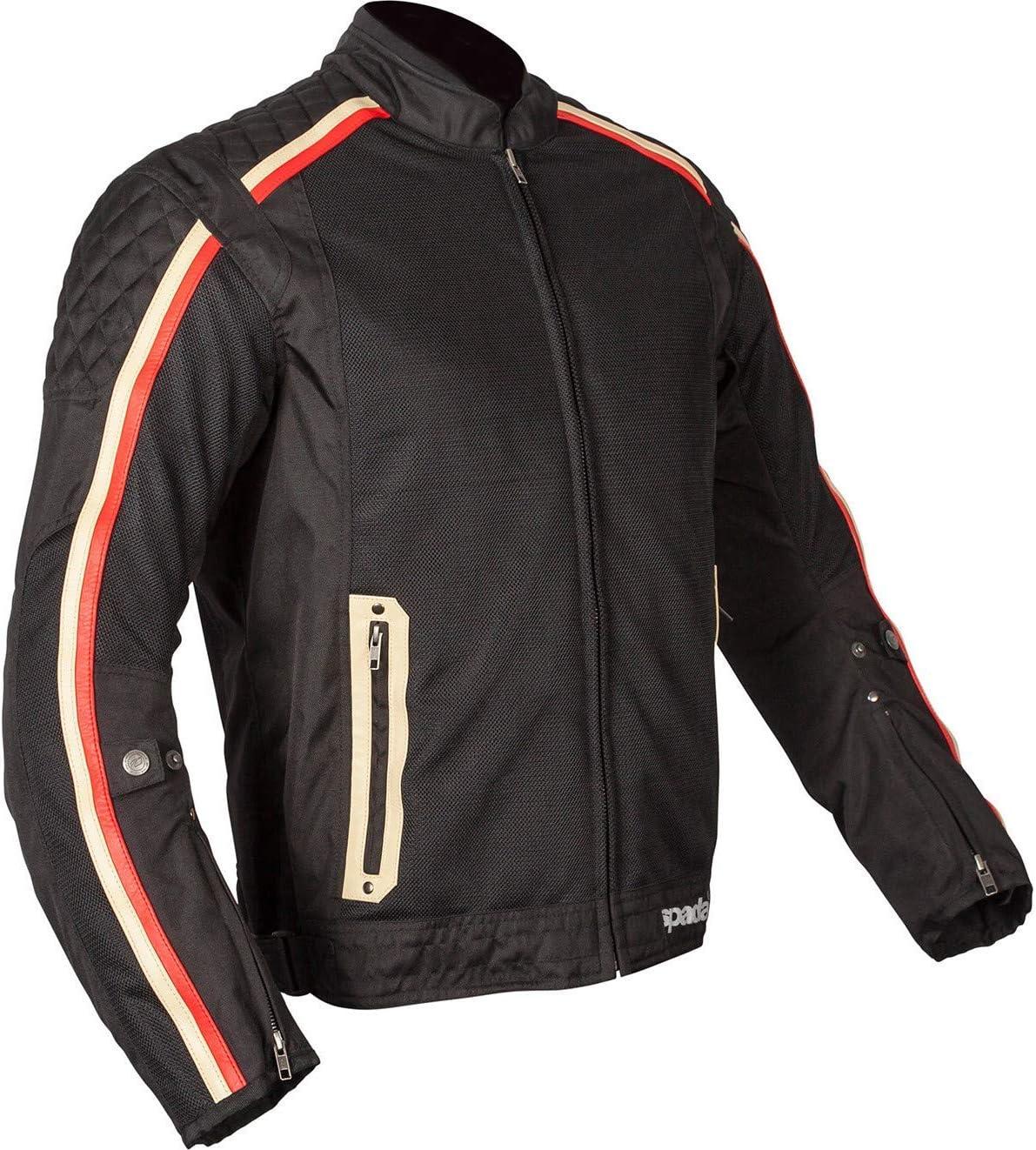 Spada Utah Winds Motorcycle Jacket M Black