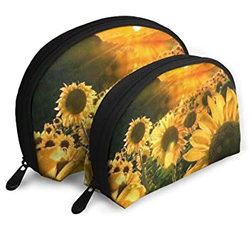 b13488370af2 Amazon.com: AMO-Z Sunflowers and A Golden Sunset. Waterproof ...