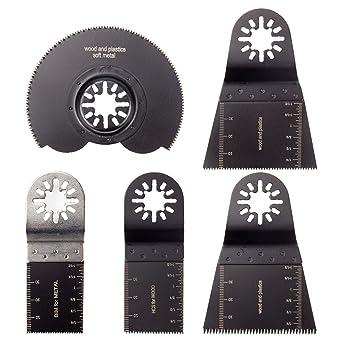 1PC 65mm HCS Oscillating MultiTool Saw Blade For Black/&Decker Fein Bosch Makita