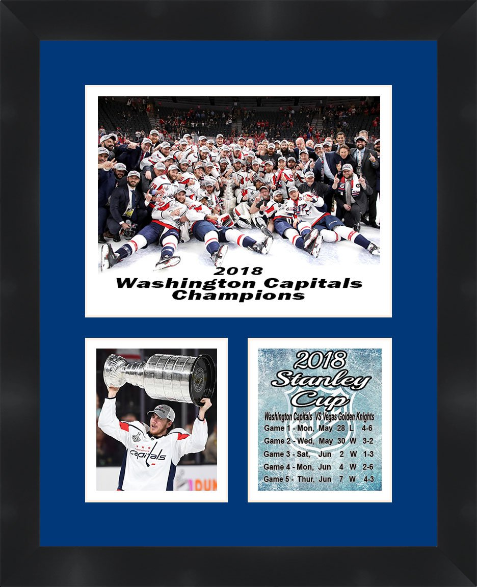 Washington Capitals 2018 Stanley Cup Champions T. J. Oshie Framed 11 x 14  Matted Collage Framed Photos ... f0ce94440