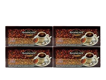 Amazon 4 boxes ganocafe classic ganoderma black coffee by gano 4 boxes ganocafe classic ganoderma black coffee by gano excel reheart Gallery