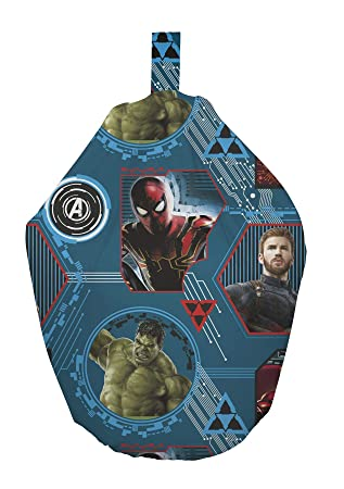 Awe Inspiring Official Marvel Avengers Endgame Filled Bean Bag Chair Gmtry Best Dining Table And Chair Ideas Images Gmtryco