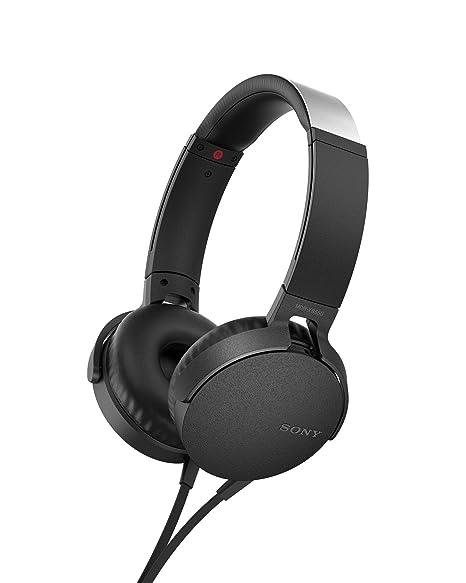 Sony MDR-XB550AP Cuffie Chiuse con Microfono e Comandi per Smartphone in  linea 014fad0ed2bf