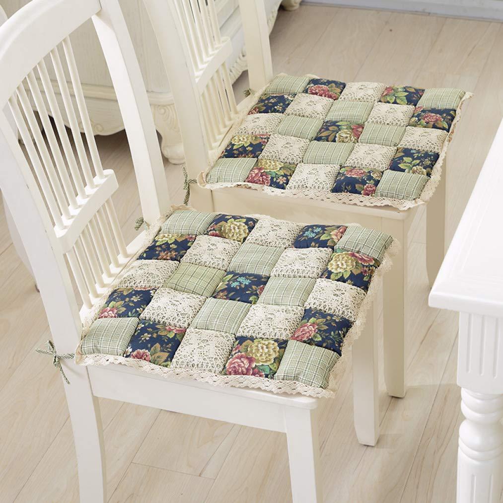 Cojín cuadrado antidecubitus de algodón para silla de ...