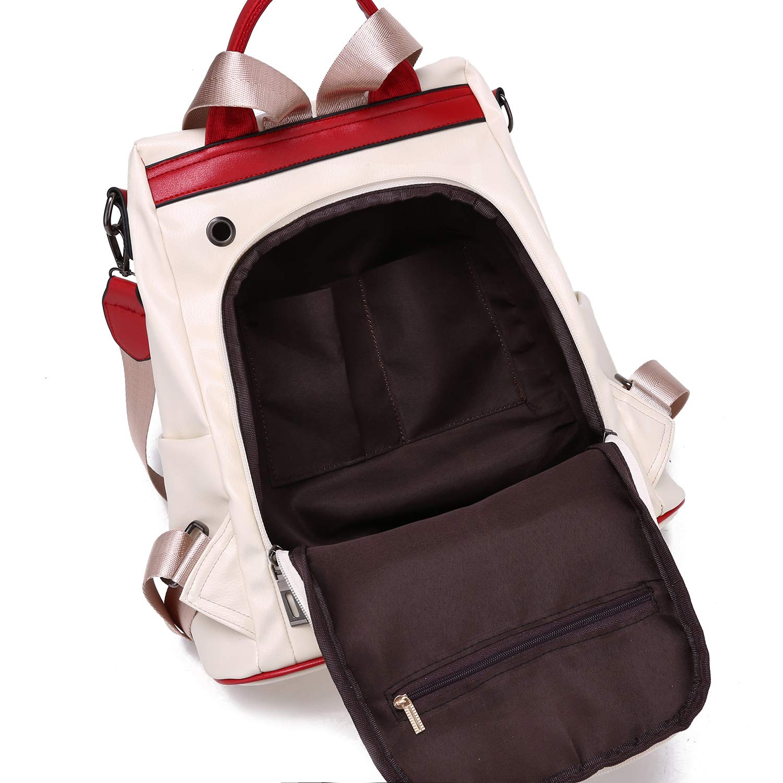 LUI SUI kvinnor ryggsäck dam ryggsäck skolväskor stöldskydd ryggsäck dagrygg axelväskor axelväska handväska Blue-new Style