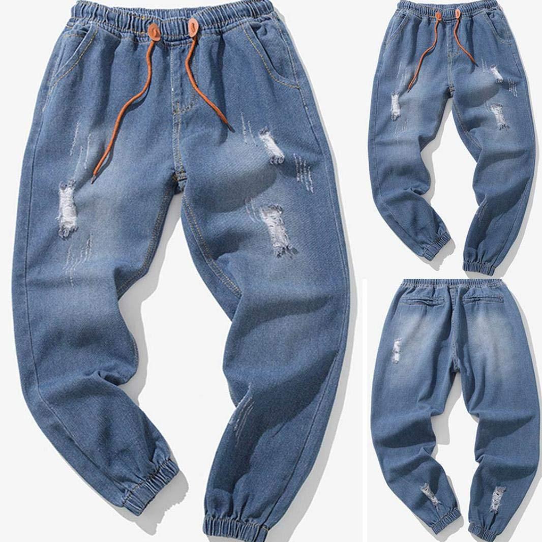 Pantalones Largos De Mezclilla De Cintura Baja De Pitillo Vaqueros Delgados Para Hombre Pantalones Vaqueros Rotos Hombre Zarlle Jeans Pantalones Vaqueros Elasticos Skinny Slim Fit Delgados Vaqueros