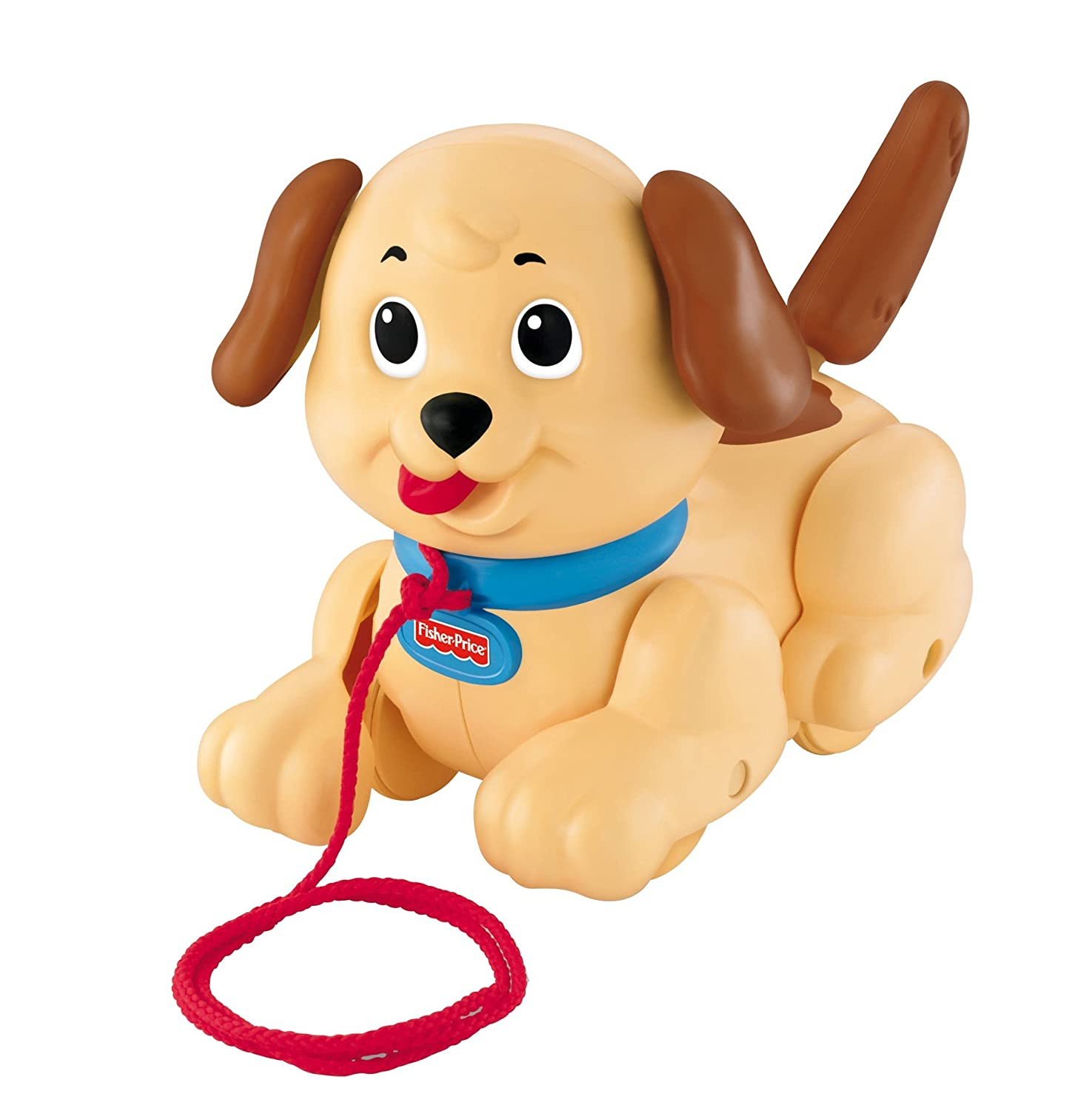 Childrens Toddlers Fisher Price Lil Snoopy Pull Along Dog Toy