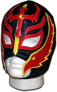 Luchadora ® Fils du Diable Feu lucha libre wrestling catch masque mexicaine 000915