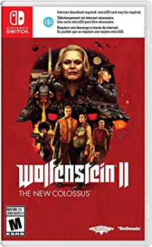 Wolfenstein II: The New Colossus - Nintendo Switch     - Amazon com