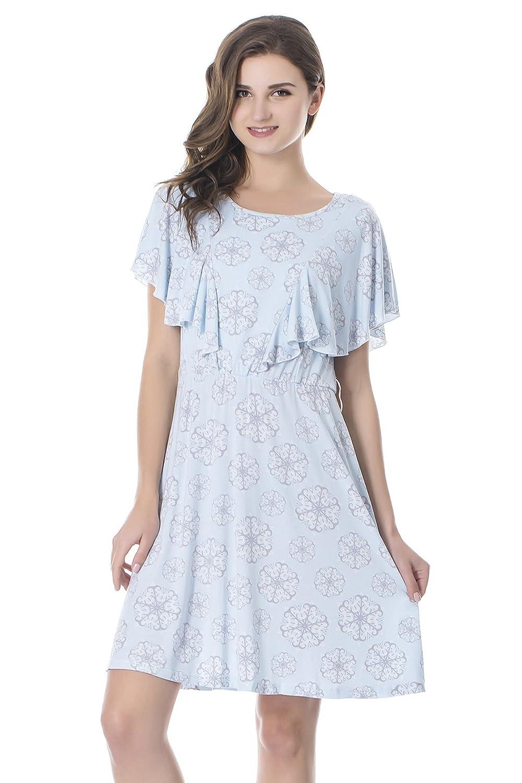 Bearsland DRESS DRESS レディース B01H9WQ258 L|ライトブルー B01H9WQ258 Bearsland ライトブルー L, モリタカバン Online Shop:b96c11a2 --- pinerelatorioanual.com
