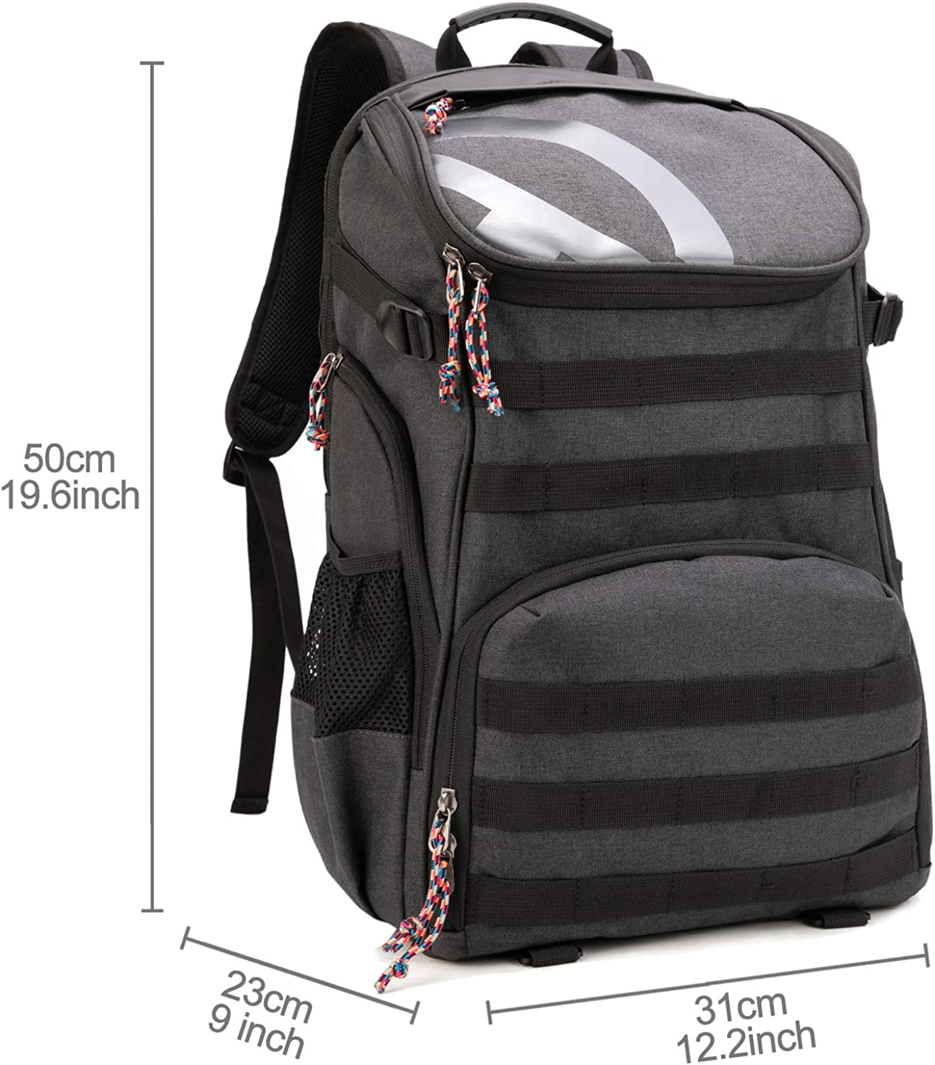 TRAILKICKER 35L Soccer Backpack with Ball Compartment 17 Laptop Compartment and Bonus Attachable Laundry//Shoe Bag Football /& Volleyball Outdoor Sports Backpack Gym Bag for Basketball Soccer