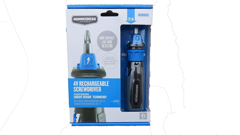 Rechargeable Screwdriver | Hammerhead Screwdriver | Hand Tools | Electric Hand Tools | Screwdriver - - Amazon.com