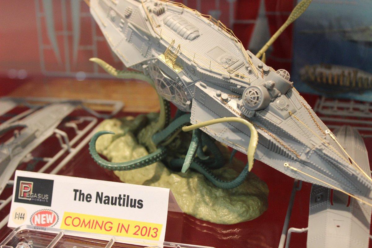 Pegasus Loisirs Echelle 1 144le sous-marin Nautilus Kit modèle Pegasus Hobbies PEG9120