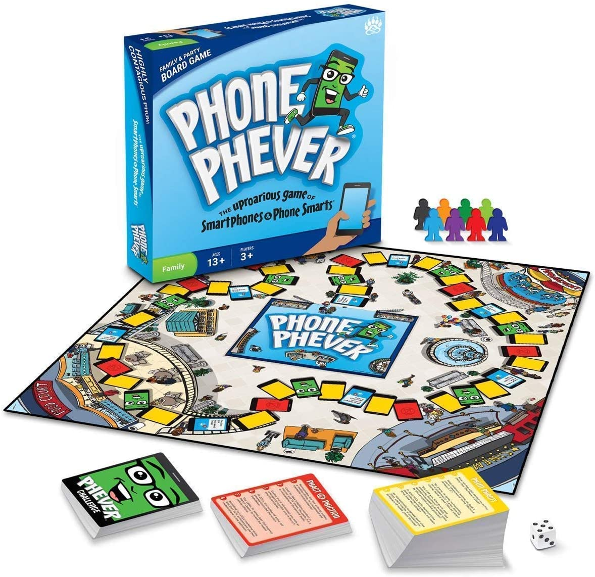 Phone Phever Board Game/